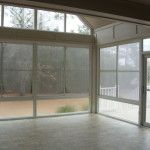 Our windows are custom made to fit any opening! www.porchconversion.com