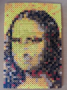 Perler Mona Lisa by ~dawgma347 on deviantART