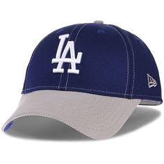 2cc3324d Men's New Era Royal/Gray Los Angeles Dodgers Fundamental Tech Diamond Era  9FORTY Adjustable Hat