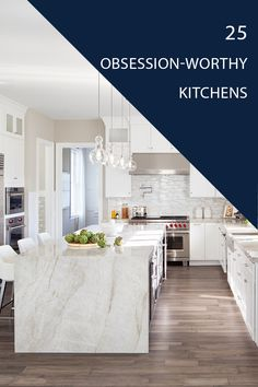 25 Luxury Kitchen Ideas for Your Dream Home Home Decor Kitchen, Small Space Interior Design, Kitchen Cabinets And Countertops, Kitchen Decor, Kitchen Remodel Small, Kitchen Redo, Home Kitchens, Kitchen Renovation, White Kitchen Design