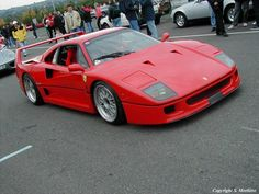 The Track Car - '90 Ferrari F40
