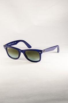 09341242aa Ray-Ban 0RB2140-887 96  matte  blue  wayfarer  stylish  sunglasses  rayban