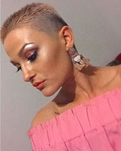 WEBSTA @ flattoper88 - Amazing fade haircut, beautiful lady@ievaliene