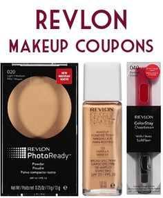 Makeup Coupons: $4 off 1 Maybelline, $2 off 1 Revlon + more! #thefrugalgirls