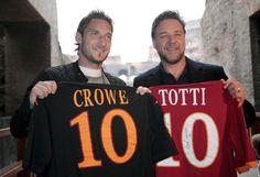 Francesco Totti, Russell Crowe - LOVE!