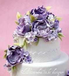 Wedding cake  ShabbyChic