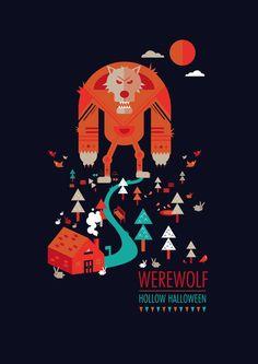 Halloween Poster series celebrating the halloween... | The Khooll