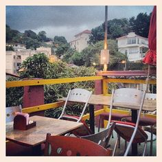 Espírito Santa in Rio de Janeiro. Restaurant in Santa Teresa. Tip Pauline of Mama Ruisa.