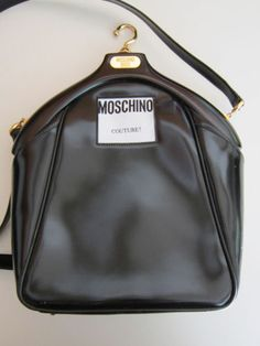 I have a small collection of vintage Moschino bags, this is one of my favorites...