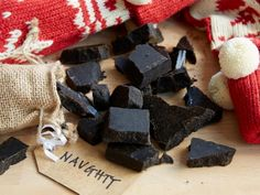 Get Christmas Coal Candy Recipe from Food Network