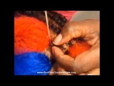 MUST SEE!!! Crochet Leafing & Reversible Knotless ORIGINATOR - YouTube