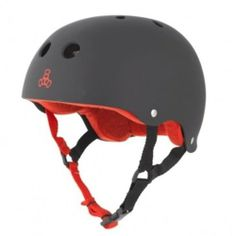 """Triple Eight Brainsaver Rubber Black Skate Helmet & Sweatsaver Liner by Triple Eight. $40.00. Triple Eight Brainsaver Rubber Black Skate Helmet & Sweatsaver Liner - Our renowned Brainsaver rubber helmet is one of the best multi-impact helmets available. This helmet can be used as necessary protective gear for skateboarding, in-line skating (""""rollerblading""""), roller derby, and scooters. This helmet is not for bicycle use. At Triple Eight we know that sweating while ska..."""