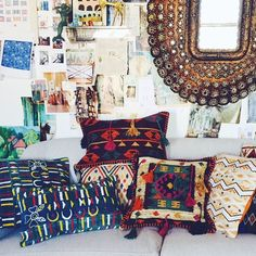 Justina Blakeney for Loloi!! My soon-to-be-launched collection of rugs and pillows!