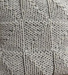 Chunky Hand Knitted Lambswool Cushion by High Fibre Design, the perfect gift for Explore more unique gifts in our curated marketplace. Hand Knitting, Unique Gifts, Fiber, Cushions, Blanket, Crochet, Design, Throw Pillows, Toss Pillows