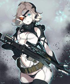 Paz Ortega Andrade, Metal Gear Solid V The Phantom Pain artwork by Kagetomo Midori.