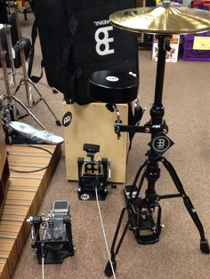 Cajon Drum Set @ Tillman Music Rock Hill $499. Everything you need but a drummer! LOL