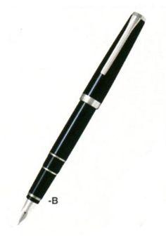 パイロット万年筆 エラボー ブラック 細字軟(SF) FE-25SR-BSF PILOT http://www.amazon.co.jp/dp/B002XHJUJK/ref=cm_sw_r_pi_dp_VKmwub1NMAQVG