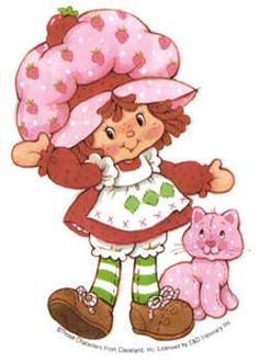 Strawberry Shortcake.. Before the makeovers.