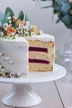 Vanilla Cake, Fruit, Cooking, Recipes, Food, Cakes, Stone, Pies, Kitchen