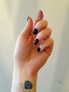 Get The Alexa Chung For Nails Inc. Leather And Lace Manicure Polish Look! - See Photos/Swatches >