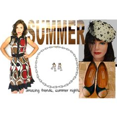 Amazing Friends and Summer Nights by thejewelseeker-1 on Polyvore