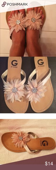 G by Guess Sandals Super cute beige sandals that go with almost anything. Worn a few times but still in great shape, questions are welcome! Guess Shoes Sandals