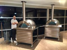 Zesti wood-fired pizza oven