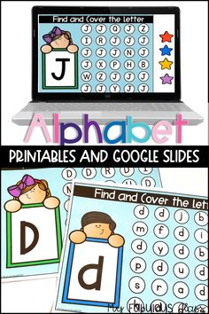 Creative Curriculum Preschool, Alphabet Activities Kindergarten, Letter Activities, Kindergarten Classroom, Letter Identification, Online Lessons, Flipped Classroom, School Worksheets, Cover Letters