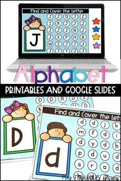Creative Curriculum Preschool, Alphabet Activities Kindergarten, Letter Activities, Kindergarten Classroom, Letter Identification, Online Lessons, Flipped Classroom, Apps, School Worksheets