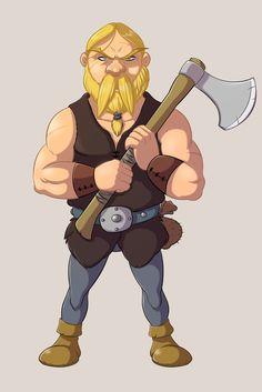 Viking Male Warrior by ElioFinocchiaro.deviantart.com on @DeviantArt