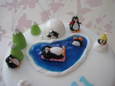 Penguin Birthday Cake — Childrens Cakes
