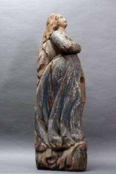 art gallery figureheads | Anonymous | Female Ship Figurehead | Found in New England at 1stdibs