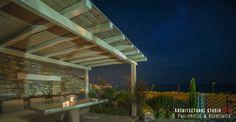 Sunrise Sea Villa: Luxury Villa for rent at Chorefto, Pelion Luxury Villa, Pergola, Sunrise, Outdoor Structures, Sea, Architecture, Outdoor Decor, Home Decor, Luxury Condo