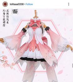 Three points 妄 v v home COS service vocaloid Hatsune Sakura miku Sakura anime fellow cosply clothing female - Taobao Cosplay Outfits, Anime Outfits, Cosplay Costumes, Costume Dress, Pretty Outfits, Pretty Dresses, Cool Outfits, Sakura Cosplay, Miku Cosplay
