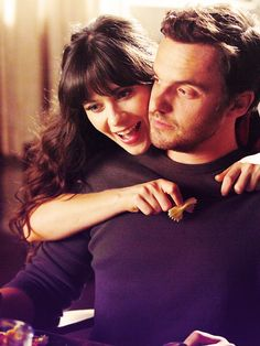 """Nick and Jess. Glad I finally figured out how awesome """"New Girl"""" is!"""