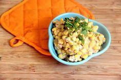 Vegan Creamed Corn [Healthy, Recipe makeover, Vegetarian, Whole grain, Coconut milk, Dairy-free, Simple] *