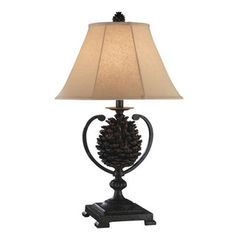 Big Sur Pine Cone Table Lamps (Set of 2)--116.99