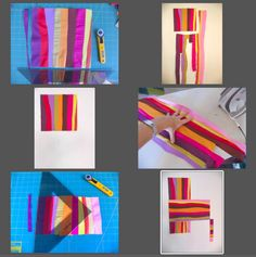 Idea for mostly solid quilt--improv, curvy strips