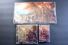 AVULSED RITUAL ZOMBI Rare Limited Death Metal CD & Cassette Tape & Art Set Spain #DeathMetal