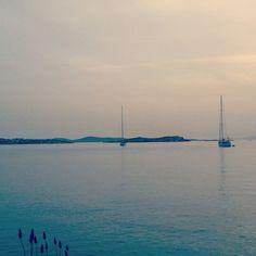 coucher du soleil Mykonos
