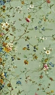18th century calico designs by Irish artist William Kilburn (1745-1818)