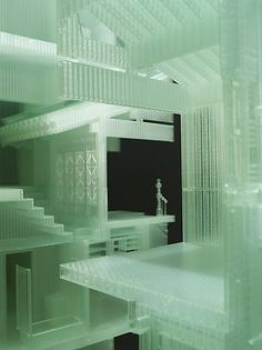 Do Ho Suh - Home Within Home - Prototype (detail), 2009-2011 photo sensitive resin