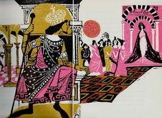 "Evaline Ness' Illustrations for ""Favorite Fairy Tales Tol... - Quora"