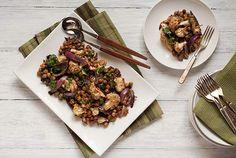 Salada de couve-flor picante
