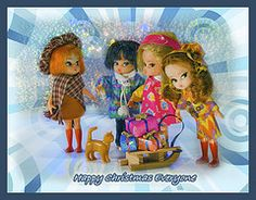 Happy Christmas Everyone (petrova fossil :)) Tags: stilllife toys dollydarlings dollydarling