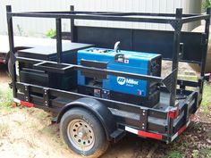 small welding trailer project