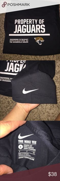 Jacksonville jaguars bundle Brand new small Nike tshirt and beanie. Neither worn. Mint condition Nike Tops Tees - Short Sleeve