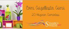 Bugün Evini Güzelleştir Günü! #isthopfest'in güne özel sunduğu fırsatları kaçırmayın! http://istshopfest.com/evini_guzellestir_gunu/…