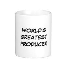 """World's Greatest Producer"" Mug"