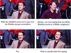 Jimmy Carr and David Mitchell on the greatest Doctor Who conspiracy Mitchell And Webb, David Mitchell, British Humor, British Comedy, English Comedy, 8 Out Of 10 Cats, Jimmy Carr, The Great Doctor, Comedy Show